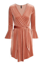 Wrapover dress - Rose - Ladies | H&M 2