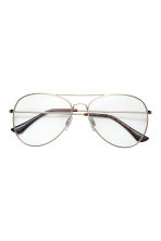 Glasses - Gold - Ladies | H&M 2