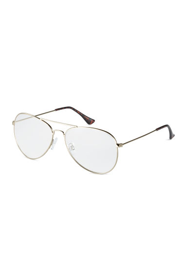 Glasses - Gold - Ladies | H&M 1
