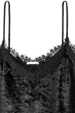 Top in velluto riccio - Nero - DONNA | H&M IT 3