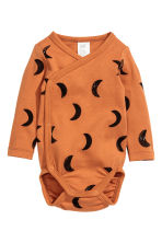 2-pack long-sleeved bodysuits - Camel - Kids | H&M 2