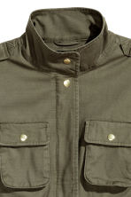 Utility jacket - Khaki green - Ladies | H&M GB 3