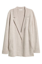 Cardigan - Light beige marl - Ladies | H&M CN 2