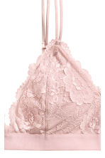 Padded triangle bra - Pink - Ladies | H&M 3