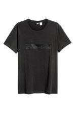 Cotton T-shirt - Black/Star Wars - Men | H&M 2