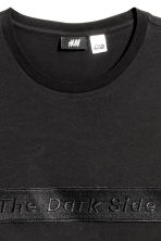 Cotton T-shirt - Black/Star Wars - Men | H&M 3