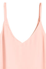 V-neck strappy top - Light pink - Ladies | H&M 3