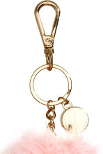 Keyring - Powder pink - Ladies | H&M CA 2