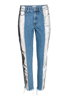 Slim Metallicprint Jeans