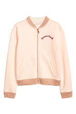 Baseball jacket - Powder pink -  | H&M 2