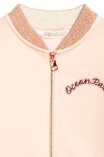 Baseball jacket - Powder pink -  | H&M 4