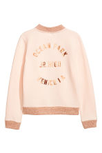 Baseball jacket - Powder pink -  | H&M 3