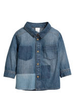 Denim shirt - Denim blue - Kids | H&M 1