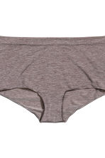 2-pack shortie briefs - Mole - Ladies | H&M CN 3