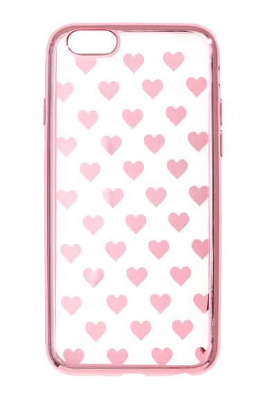 iPhone 6/6s case - Pink/Heart - Ladies | H&M CN 1