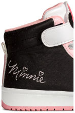 Hi-top trainers - Black/Minnie Mouse - Kids | H&M 4