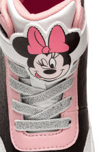 Hi-top trainers - Black/Minnie Mouse - Kids | H&M 3