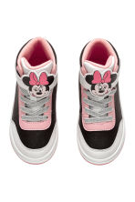 Hi-top trainers - Black/Minnie Mouse - Kids | H&M 2