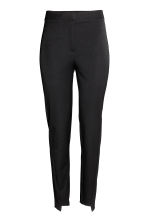 Cigarette trousers - Black - Ladies | H&M CN 2