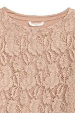 Lace top - Beige - Ladies | H&M 3