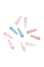 10-pack hair clips - Pink/Cats - Kids | H&M CN 1