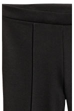Flared jersey trousers - Black - Ladies | H&M 3