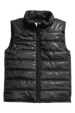 Padded gilet - Black - Kids | H&M CN 2