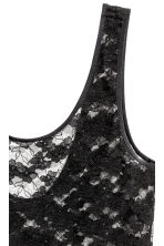 Lace vest top - Black - Ladies | H&M 3