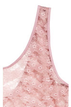 Lace vest top - Pink - Ladies | H&M 2