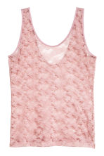 Lace vest top - Pink - Ladies | H&M 1
