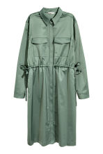 Shirt dress - Green - Ladies | H&M 2
