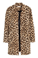 Short coat - Leopard print - Ladies | H&M GB 2