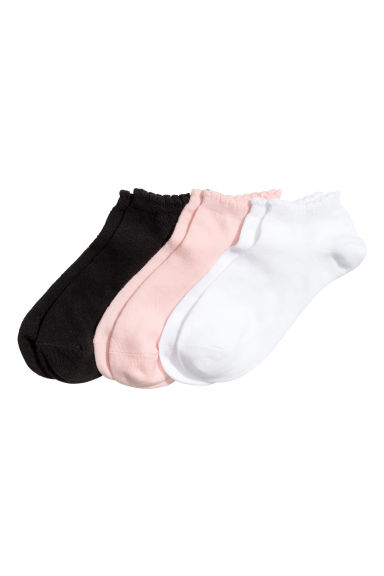 3-pack trainer socks - White - Kids | H&M 1