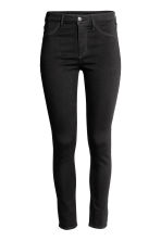 Skinny High Ankle Jeans - Black denim - Ladies | H&M GB 2
