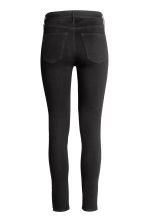 Skinny High Ankle Jeans - Black denim - Ladies | H&M 4
