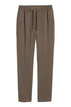 Pull-on trousers - Dark Khaki - Ladies | H&M CN 2