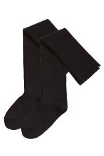 2-pack over-the-knee socks - Black - Ladies | H&M CN 2