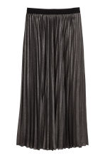 H&M+ Pleated skirt - Black/Glitter - Ladies | H&M 2