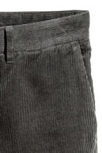 Corduroy trousers - Dark grey - Men | H&M 3