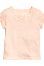 2-pack short-sleeved tops - Light pink - Kids | H&M CN 4