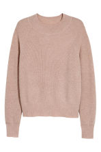 H&M+ Cashmere jumper - Powder beige - Ladies | H&M CN 2