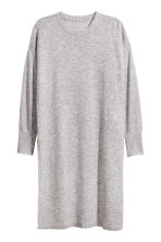 H&M+ Tunique en cachemire - Gris chiné -  | H&M BE 2