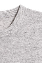 H&M+ Tunica in cashmere - Grigio mélange -  | H&M IT 3