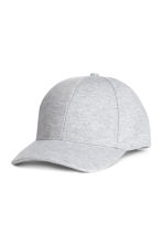 Jersey cap - Light grey marl - Men | H&M CN 1