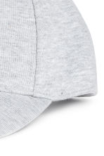 Jersey cap - Light grey marl - Men | H&M CN 2