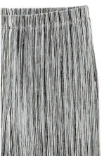 Pleated trousers - Grey marl -  | H&M GB 3