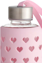 Water bottle - Light pink/Heart - Ladies | H&M CN 2