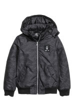 Padded jacket - Dark grey - Kids | H&M CN 2