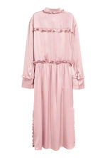 Shirt dress with frills - Light pink - Ladies | H&M CN 3