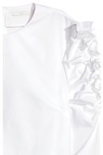 Frilled blouse - White - Ladies | H&M CN 3